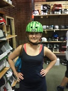 REI Helmet Test
