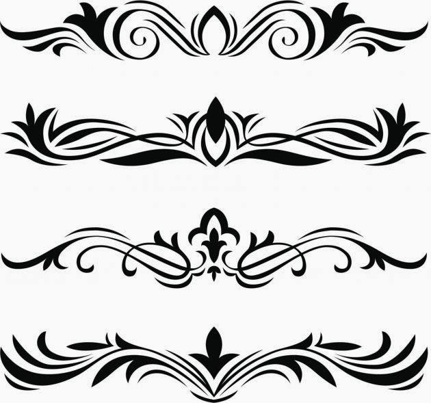Tribales para cartas imagui - Dibujos tribales para tatuar ...