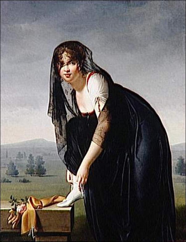Marie-Denise Villers, Une étude de femme d'après nature