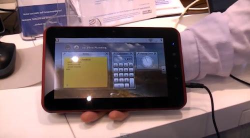 Vivaldi il tablet con KDE Plama Active