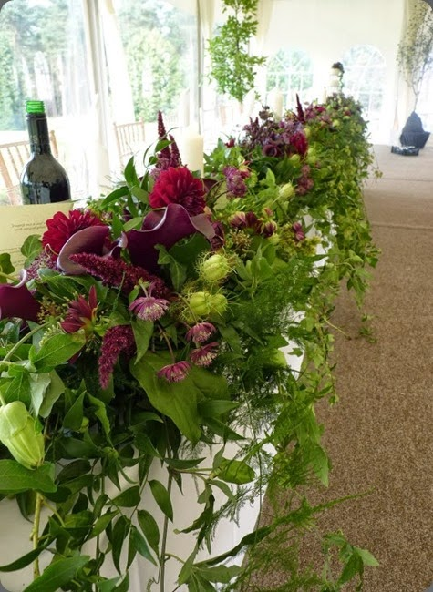head table Planet Flowers - Dunglass Estate (11)