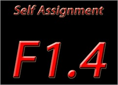 Self Assignment