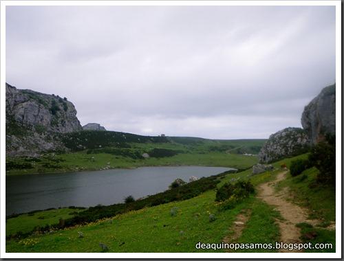 Poncebos-Canal de Trea-Jultayu 1940m-Lagos de Covadonga (Picos de Europa) 5179