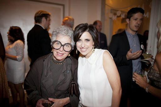 Sylvia Weinstock and me