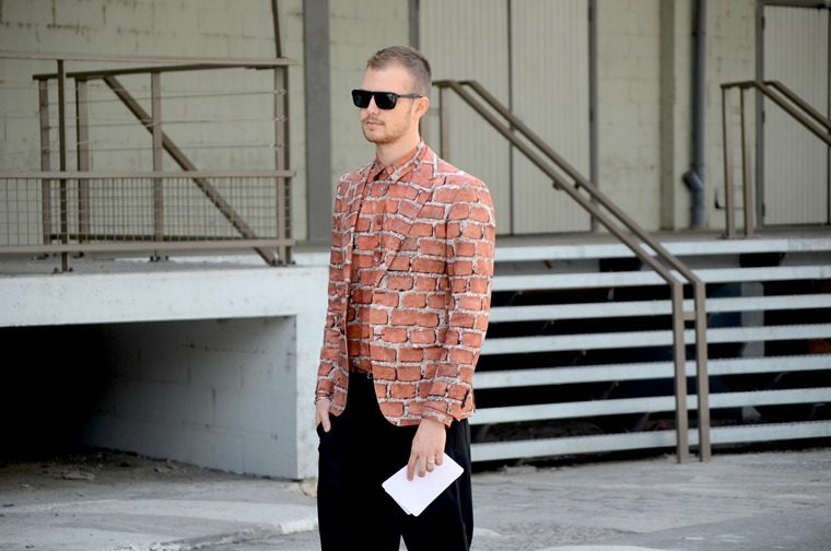 NobodyKnowsMarc.com Gianluca Senese Andrea Porro Paris Fashion week Street Style