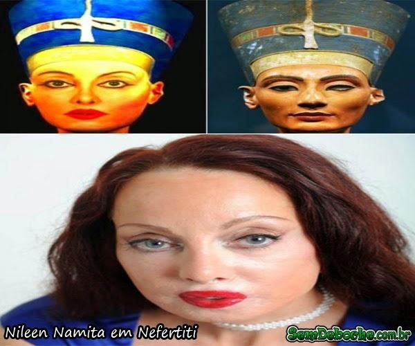 Nileen Namita em Nefertiti