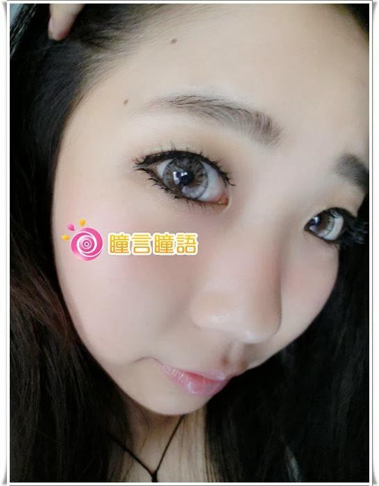 日本ROYAL VISION隱形眼鏡-混血四色灰14