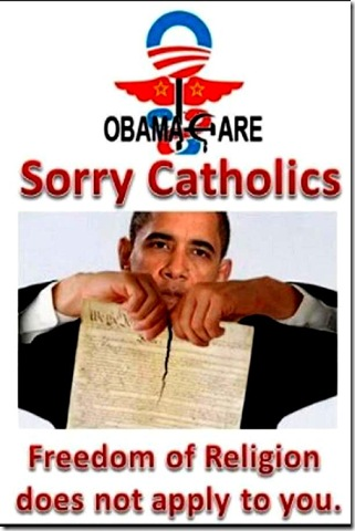 Obamacare fights Religious Liberty