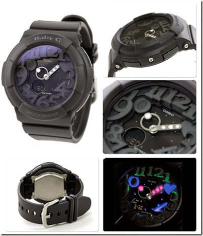 Casio Baby-G BGA-131-7B Neon Illuminator 130 Series black 02