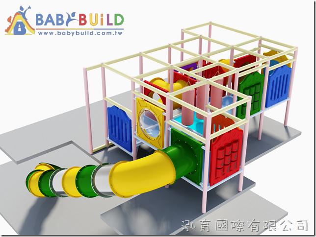BabyBuild 室內3D泡管遊具設計