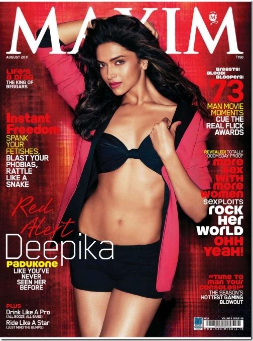 Deepika Padukone Maxim