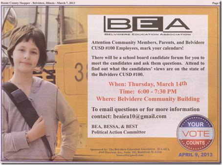 candidates night 2013--2