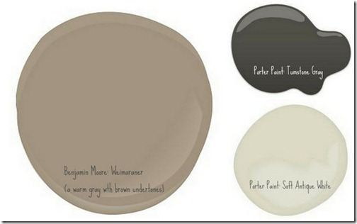 taupe paint palette via pinterest