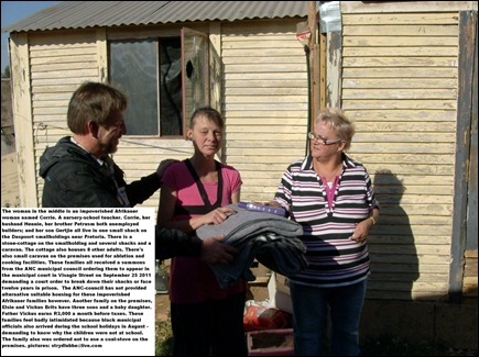 DASPOORT SMALLHOLDINGS POOR WHITES BLANKETS AUG2011a