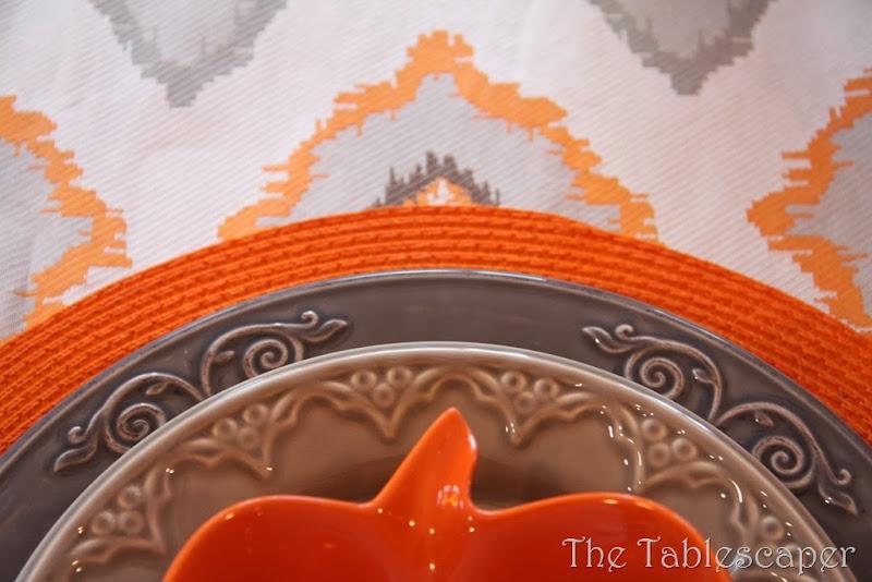 Orange Ikat19