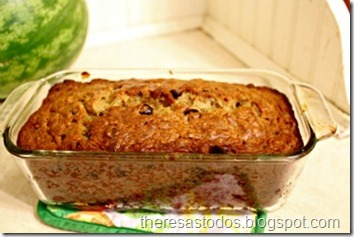 Egg-Free Banana Chocolate Chip Bread
