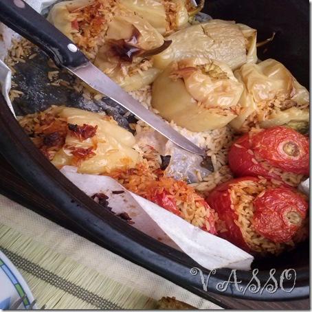 punjeni paradajzi i paprike sa rizom3