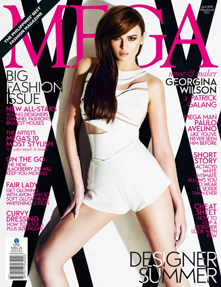 Georgina Wilson on Mega Apr 2013