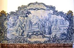 Glória Ishizaka - Mosteiro de Alcobaça - 2012 - Sala dos Reis - azulejo 9