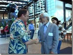 Howls Moving Castle Miyazaki and Lasseter