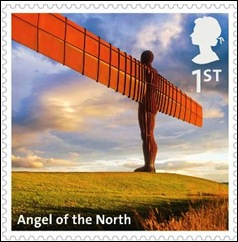 A - Angel of the North Stamp