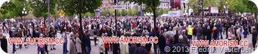 DSC07267 (1) Panorama Jesusmanifestationen 2013 Kungsträdgården med amorism