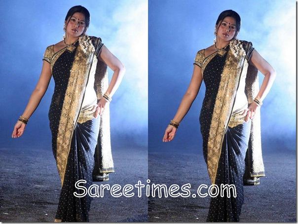 Sangeeth_Black_Designer_Saree