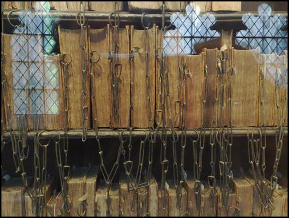 Hereford Cathedral Chained Library, Hereford, Angleterre 03