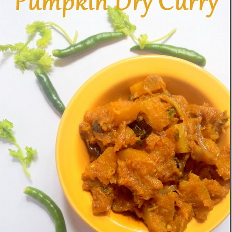 Pumpkin Dry Curry | Kaddu Ki Sabzi North India Style