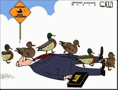 duckcrossing Cartoon