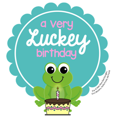 Luckey birthday giveaway logo