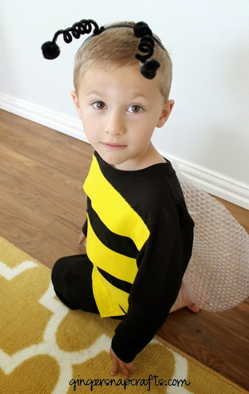 bee kid costume