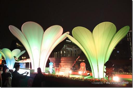2010台北燈節(台北燈會)-三朵花