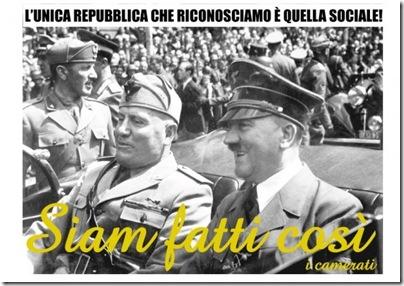 manifesti fascisti