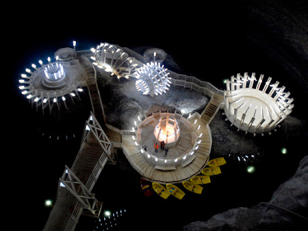 Sights of Romania: Turda Salt Mine