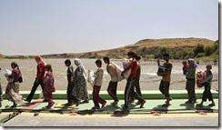 Iraq,gli Yazidi  in fuga