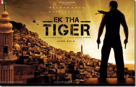 ek tha tiger movie ft salman khan,katrina kaif and ranvir shorey direct by kabir khan produce by aditya chopra yrf film 2012