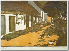 The-Dooryards-by-Gustave-Baumann