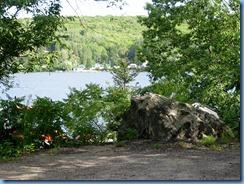 7027 Doe Lake Campground Rizzort - walk around campground - view of Doe Lake