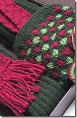 Hand Knitted Shooting Socks