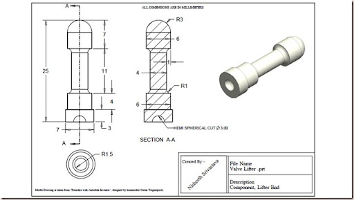 Valve%252520Lifter 2_thumb%25255B2%25255D?imgmax=800 3d solid modelling videos valve lifter practice exercise drawing
