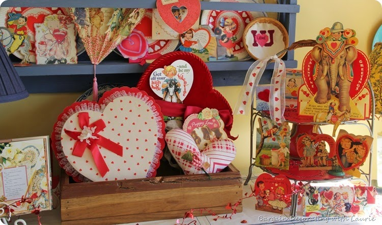 Vintage Valentine Display 4