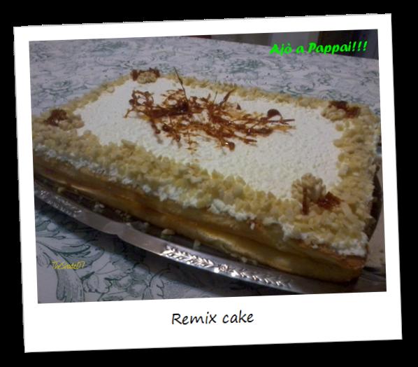 Fotografia della torta Remix cake