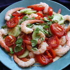 Thai-Style Tomato and Shrimp Salad