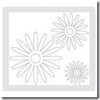 flower daisies die #2