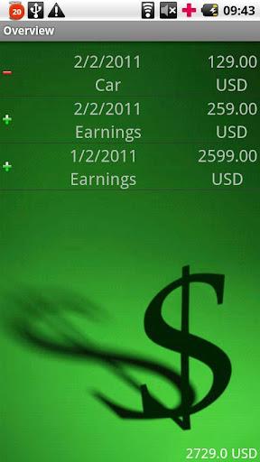 MoneyManager Pro - screenshot