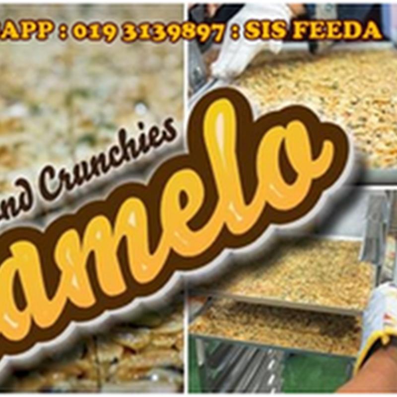 Caramelo Almond Crunchies : Ada yang berminat ke ?