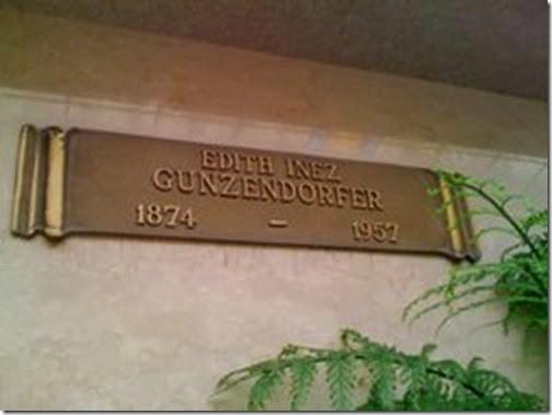 Edith Inez Steinberger Gunzendorfer