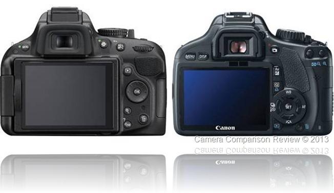Nikon D5200 vs Canon T2i