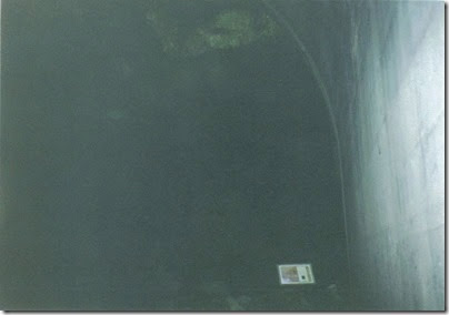 Inside Concrete Arch at Tunnel 15.1 on the Iron Goat Trail in 2000